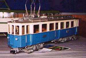 Tony Parkinson's Aarau-Schoftland Railway car
